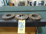 LOT OF ROTARY INDEXER PLATES, 7