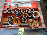LOT CONSISTING OF: assorted sockets & breaker bars