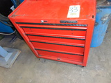 PORTABLE TOOLBOX, CRAFTSMAN, 5-drawer, w/contents