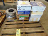 LOT OF MIG WIRE, assorted  (on one pallet)
