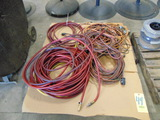 LOT CONSISTING OF: assorted extension cords & air hose  (on one pallet)