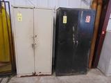 LOT OF SUPPLY CABINETS (2), 2-door