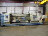 """CNC HOLLOW SPINDLE FLATBED LATHE, KINGSTON 38"""" X 160"""" MDL. LC38X160, new 20"""