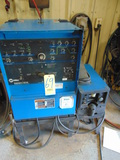 WELDING MACHINE, MILLER MDL. SYNCROWAVE 250DX, S/N LC453236