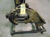 CNC STEADYREST, MDL. D-400P, 2.75 - 10 range, 1747 bearings nut