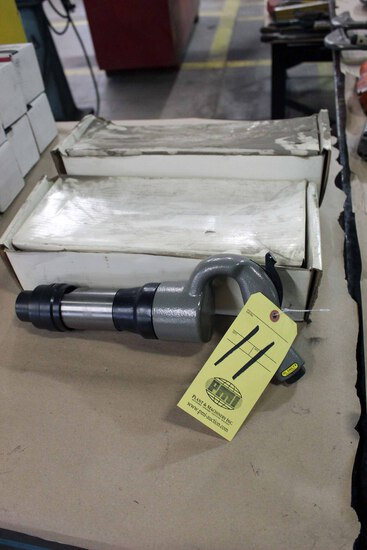 LOT OF PNEUMATIC CHIPPING HAMMERS  (new)