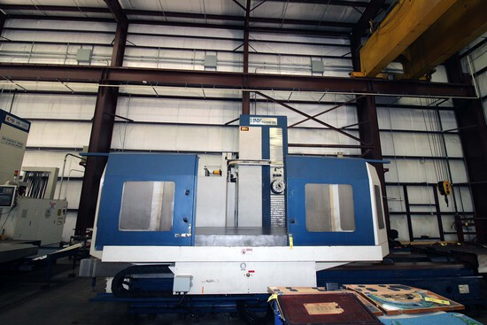 CNC HORIZONTAL BORING MILL, HNK MDL. HB-150X, new 2012, Fanuc 31i - Model A