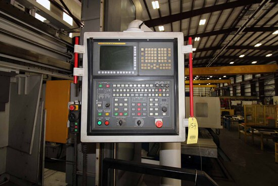 CNC VERTICAL TURNING CENTER, HNK MDL. VTC16/20, new 2012, Fanuc 31i - Model