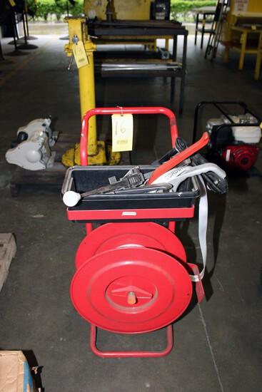 "CORD STRAP BANDING MACHINE, 1-1/4"", w/tooling"
