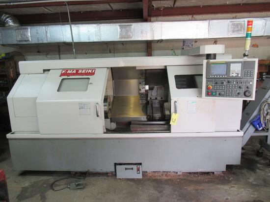CNC LATHE, YAMA SEIKI MDL. GA-3600L, new 2006, Fanuc Oi-TC CNC control, 23.
