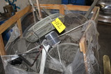 LOT OF APPROX. 28 SHOP FANS (in three bins) (Location 1: Fabcorp, Inc., 695