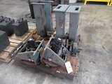 LOT CONSISTING OF: rotating headstock stands, (2) Motoman MH-450 headstocks