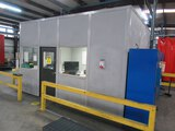 PORTABLE OFFICE BUILDING, STARRCO, insulated walls, lights, ceiling tiles,