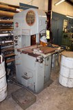 VERTICAL BANDSAW, DOALL MDL. DBW-1A, phase-1,S/N V220 (Location 8: TIMCO, 2
