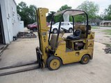 FORKLIFT, CATERPILLAR MDL. T70C, 8,000 LB. CAP. w / counter weight, 3-stage