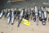 LOT OF CAT-50 TOOL HOLDERS, w / some tooling (Location 1: Fabcorp, Inc., 69