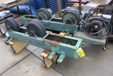 SET OF TANK TURNING ROOLS, RANSOME, 5 T.  consisting of Idler & Drive w/cnt