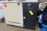SCREW TYPE AIR COMPRESSOR, INGERSOLL RAND, 50 HP (Location 1: Fabcorp, Inc.