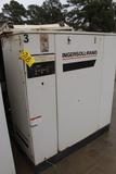 SCREW TYPE AIR COMPRESSOR, INGERSOLL RAND, 100 HP (missing motor) (Location