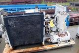 SCREW TYPE AIR COMPRESSOR, GARDNER DENVER, 50 HP (Location 1: Fabcorp, Inc.