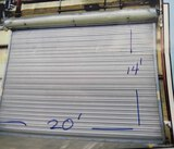 ROLLUP SHOP DOOR, 20'W. X 14' HIGH (Location 1: Fabcorp, Inc., 6951 West Li