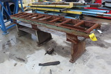 SECTION OF ROLLER CONVEYOR, 8'  (Location 1: Fabcorp, Inc., 6951 West Littl