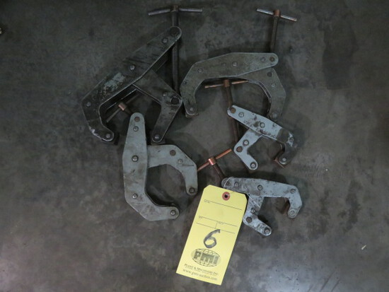 LOT OF CLAMPS (5), KANT-TWIST