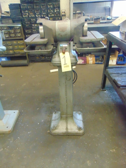 CARBIDE TOOL GRINDER, DELTA MDL. 1650, on cast iron base