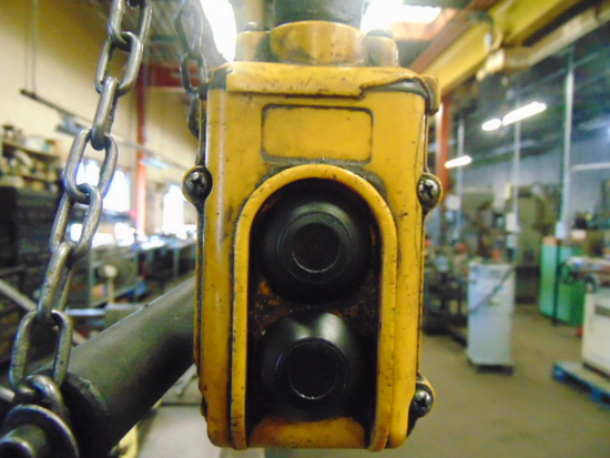 ELECTRIC CABLE HOIST, 4 T. CAP., load lifter, w/ trolley