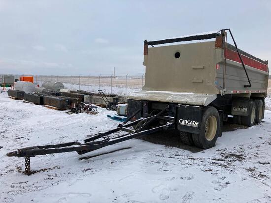 Trojan 20' Gravel T/A Dump Wagon
