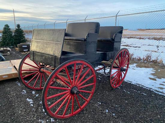 2 Seat Mountain Democrat Horse Drawn Carriage