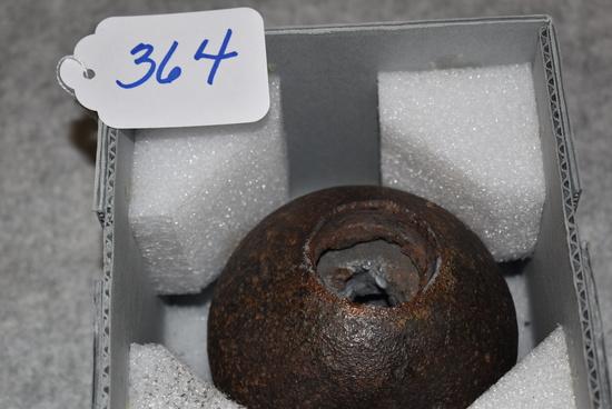 12 lb. spherical shell