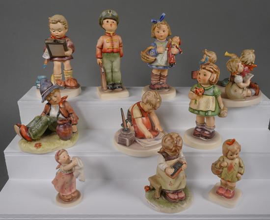 (10) Hummel Figurines TMK6