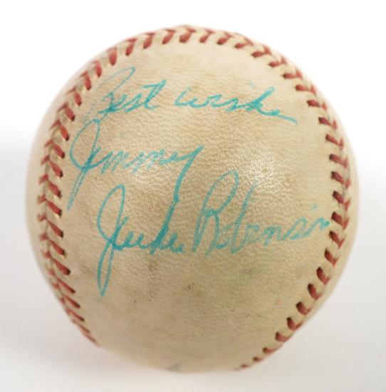Authentic JACKIE ROBINSON Signed Baseball JSA LOA