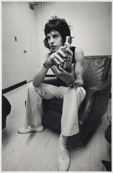 JIM MARSHALL, Mick Jagger, Jack Daniels Photograph