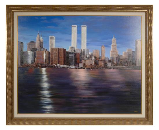 LUIGI ROCCA, New York Skyline, 2001
