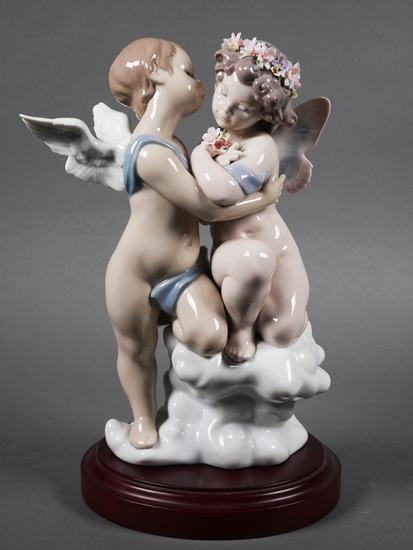 Lladro Porcelain Figurine Heaven and Earth #1824
