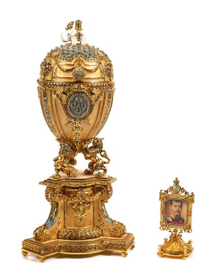 Faberge Royal Danish Jubilee Egg