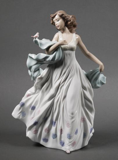 Lladro Porcelain Figurine Summer Serenade #6193
