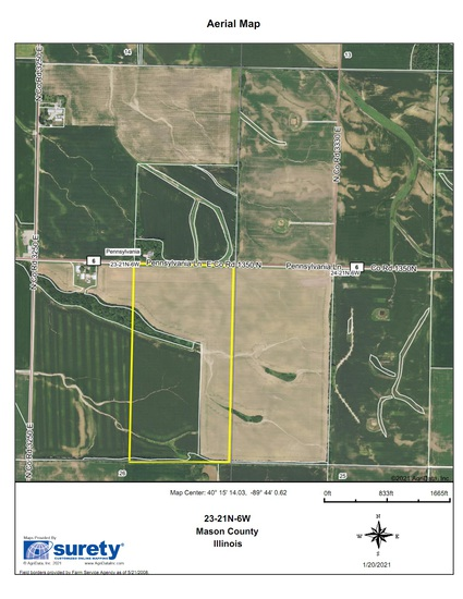 Tract 3 -80.89 Surveyed Acres