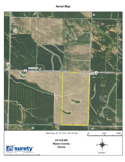 Tract 4 - 79.76 Surveyed Acres