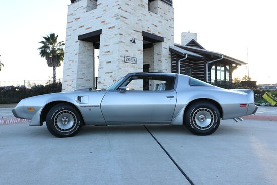 1979 Pontiac Trans Am WS6 10th Anniversary Edition