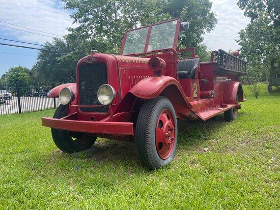 1929 American LaFrance Model G330 Pumper Fire Truck
