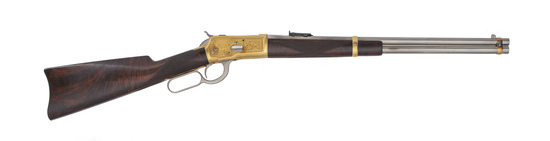 Very Rare Factory Presentation Ulrich Engraved Winchester Model 1892 Carbine