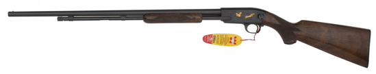 Engraved and Gold Inlaid Winchester Model 61 Rifle
