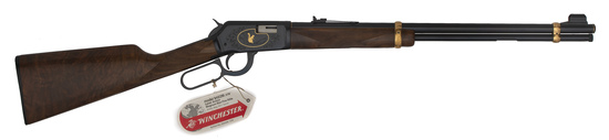 Engraved Winchester Carbine Model 94 .22 XTR