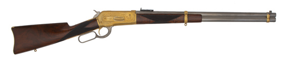 Winchester Exhibition Model 1886 Deluxe Factory Ulrich Engraved Carbine