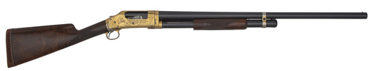 Factory Engraved Winchester Model 1897 Shotgun with Extra Barrel