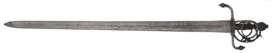 A Rare North European Broadsword Circa 1600 (Possibly Earlier)
