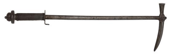 A Fine And Rare Saxon Horseman's Hammer Circa 1625